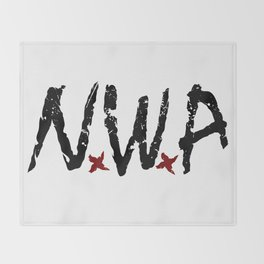 N.W.A Throw Blanket