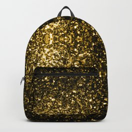 Beautiful Yellow Gold sparkles Backpack