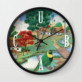 Cuba Scenery 2 Wall Clock