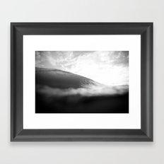 Under Lip Framed Art Print