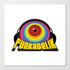 Funkadelik Canvas Print