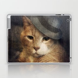 Vinnie Valentino - Ginger Cat Portrait Laptop & iPad Skin