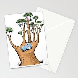 Cute Koala in a Tree Hand Stationery Cards