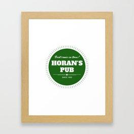 Solo Horan Framed Art Print