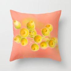 Bud Bouquet Throw Pillow
