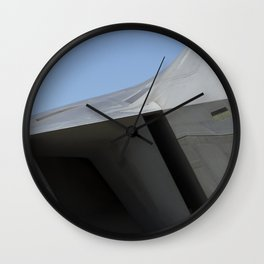 F22 F-22 Raptor Fighter Military Aircraft/Airplane USAF Wall Clock