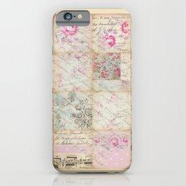 Shabby Chic 1 iPhone Case