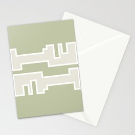 Brown // Key Blade Stationery Cards