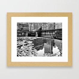 New York City Reflections Framed Art Print