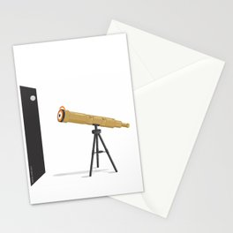a glance to the stars Stationery Cards