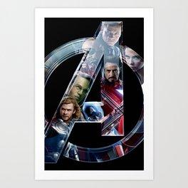 The Avengers 2 Art Print