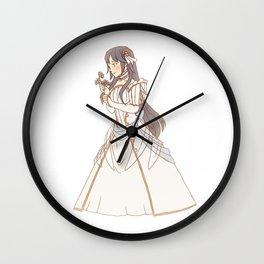 bride lucina Wall Clock