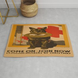 Vintage poster - Come On, Join Now Rug