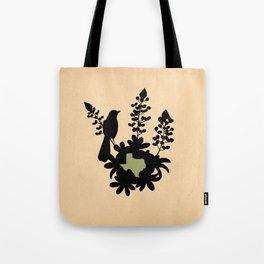 Texas - State Papercut Print Tote Bag