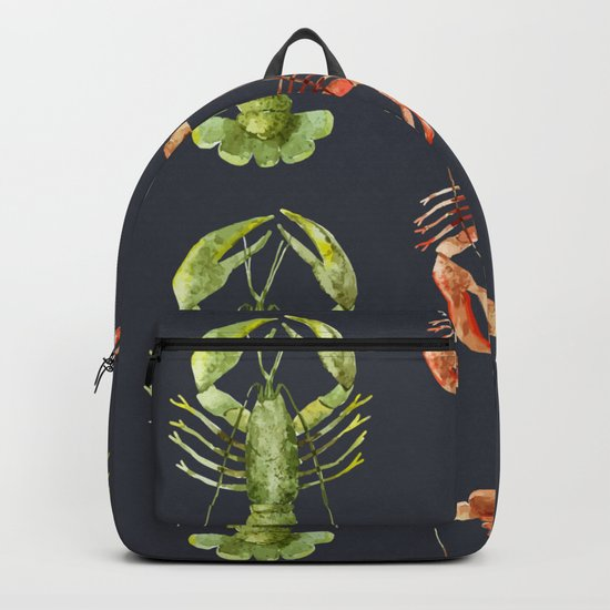 Sea Life Pattern 14 Backpack