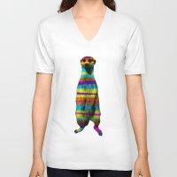 hakuna V-neck T-shirts featuring Hakuna Piñata by Triplea