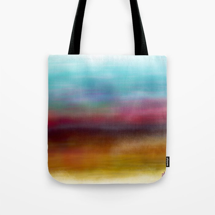 C for Colorful Tote Bag