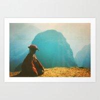 peru Art Prints featuring PERU by Camille Defago
