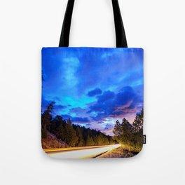 Colorado Highway 7 To Heaven Tote Bag