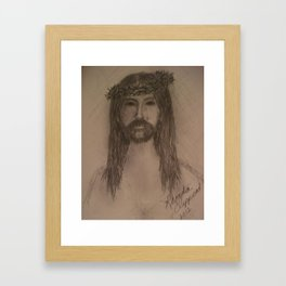 My Sweet Lord Framed Art Print