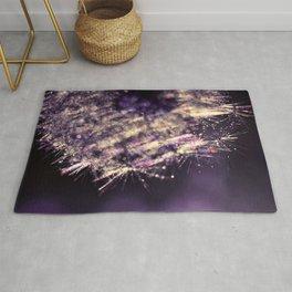 dandelion purple III Rug