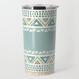 Colorful Geometric Boho Style 1 Travel Mug