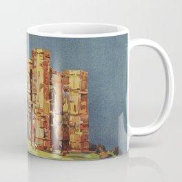 Apulia Castle del Monte vintage Italian travel ad Coffee Mug