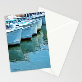 Boats Reflected Stationery Cards