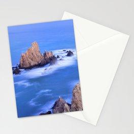 """Sirenas azules. Blue mermaids"" Stationery Cards"