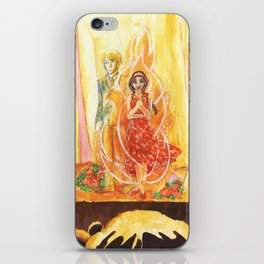 Catching Fire iPhone Skin