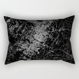 Austin map Texas Rectangular Pillow