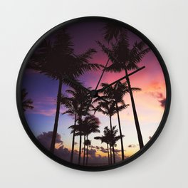 hot summer nights 111 Wall Clock