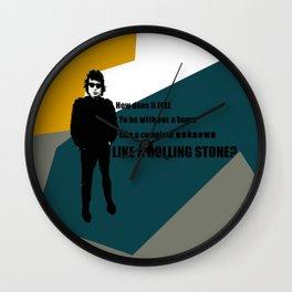 Bob Dylan Like a Rolling Stone Wall Clock