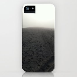 Gloomy Beach  iPhone Case