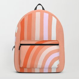 Rise above the Rainbow - Peachy pastels Backpack