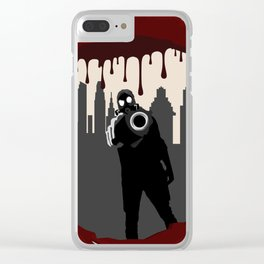 Zombie Control (Shooter) Clear iPhone Case