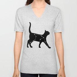 Aquarius Cat Unisex V-Neck
