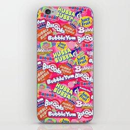 Bubble Gum Explosion iPhone Skin