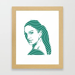 I am JLo Framed Art Print