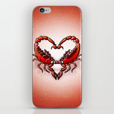 Loving Scorpions iPhone & iPod Skin