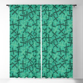 Jungle, Sacramento & Emerald Colors - X-Plosion Blackout Curtain