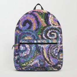 Textured Circles Backpack