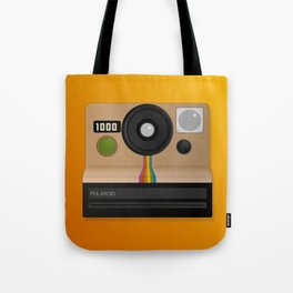 Vintage two step camera (instant photo) Tote Bag