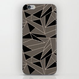 Geometric Abstract Origami Inspired Pattern iPhone Skin