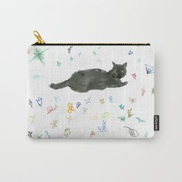 cat and toy Carry-All Pouch