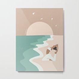 Stress-Free Metal Print
