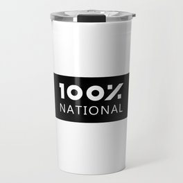 100% National Travel Mug