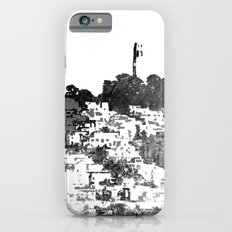 Telegraph Hill Print Black and Grey Slim Case iPhone 6s
