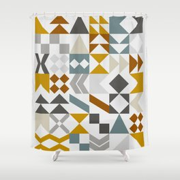 Mid West Geometric 05 Shower Curtain