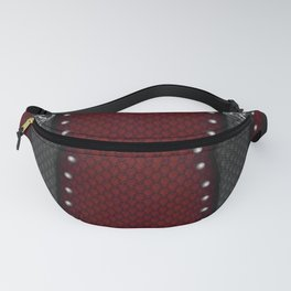 Prancing Horse~2 (Silver) Fanny Pack